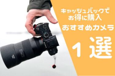 【2021夏】ソニーのキャッシュバック対象カメラのおすすめを紹介